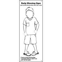 Safe4Kids Early Warning Signs Banner - Boy Number 2