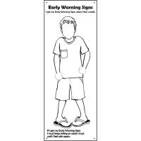 Safe4Kids Early Warning Signs Banner - Boy Number 1