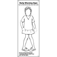 Safe4Kids Early Warning Signs Banner - Girl Number 2
