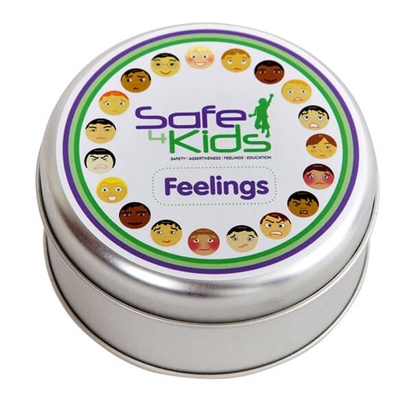 Safe4Kids Feelings Cards Tin