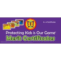 Safe4Kids Assorted Merit Certificates
