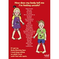 Safe4Kids Early Warning Signs Poster