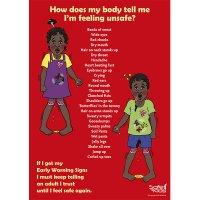 Safe4Kids Early Warning Signs Poster Aboriginal Children