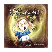 Safe4Kids 'Go Away, Mr Worrythoughts!' Book