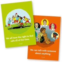 Safe4Kids Theme Posters - Aboriginal Boy
