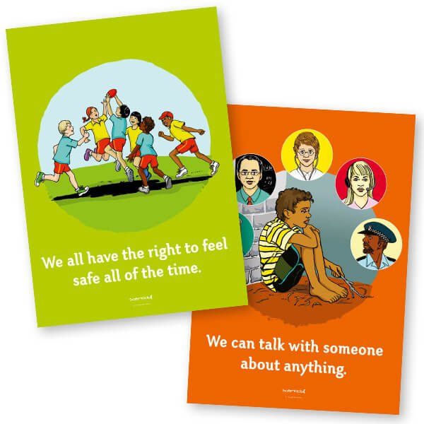 Safe4Kids Theme Posters - Aboriginal Boy