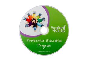 Safe4Kids Child Protection Education Information CD