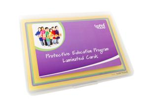 Safe4Kids Child Protection Education Laminated Flash Cards