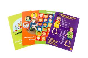 Safe4Kids Child Protection Education Posters