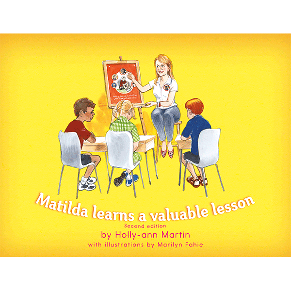 Safe4Kids 'Matilda Learns a Valuable Lesson' Book