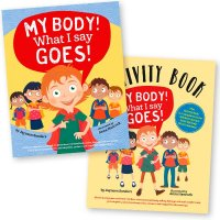 Safe4Kids 'My Body! What I Say Goes' Book and 'Activity Book'