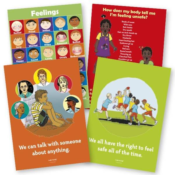Safe4Kids Poster Bundle - Aboriginal Children
