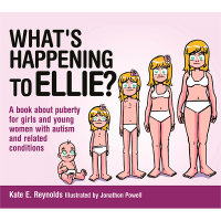 Safe4Kids 'What's Happening to Ellie: A book about puberty for girls and young women with autism and related conditions'